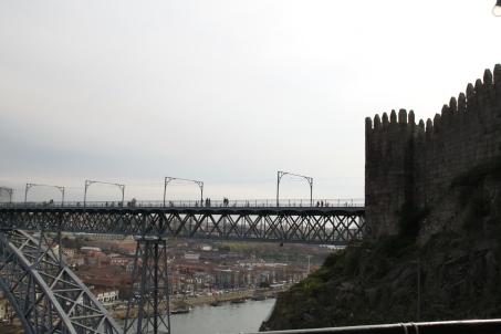 Vista desde la terraza al Ponte do Infante