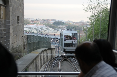 El funicular dos Guindais
